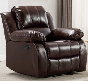 Bonzy Home Overstuffed Heavy Duty Big and Tall Recliner