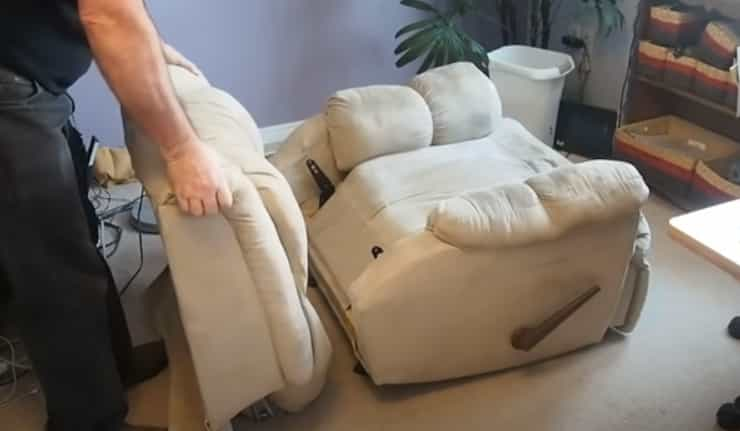 Fixing a Leaning Recliner
