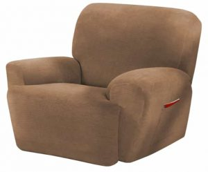 MAYTEX Stretch Recliner Covers 4 Piece Slipcovers for Recliners