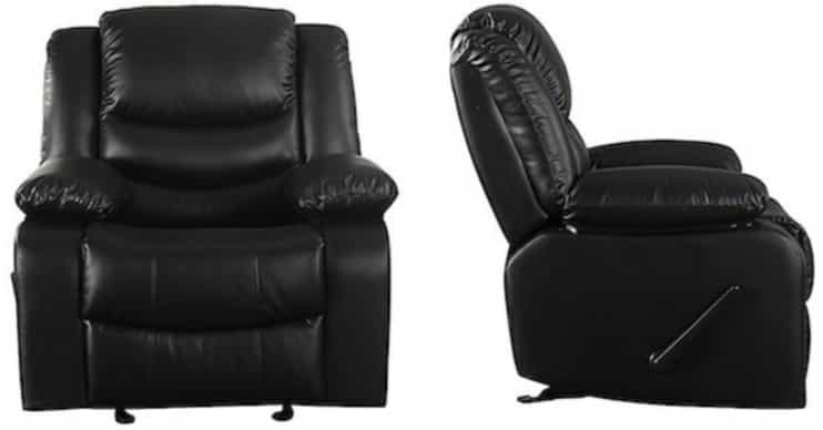how to fix a recliner back