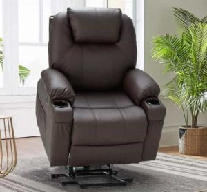 Esright Electric Power Lift Recliner Chair, Electric Wall Hugging Recliner