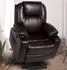 CDCASA Power Lift Recliner Chair with Heat & Massage