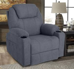 MAGIC UNION Wireless Remote LazyBoy Massage Recliner Chair with Heat