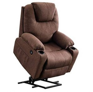 Mcombo Electric Power Lift Recliner Chair Sofa with Massage and Heat