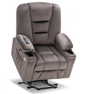Mcombo Electric Power Lift Recliner Chair with Massage and Heat for Elderly